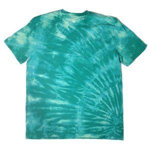 New Reverse Tie Dye T-Shirt Customizable M L